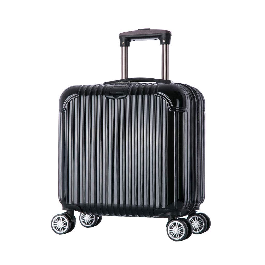 ハンド荷物スーツケース超軽量ABSハードシェル旅行は4つのホイール、航空&詳細情報のために承認されたハードシェルトロリーサイズのアドオンキャビンハンド荷物スーツケースキャリー B07P7MXPSJ