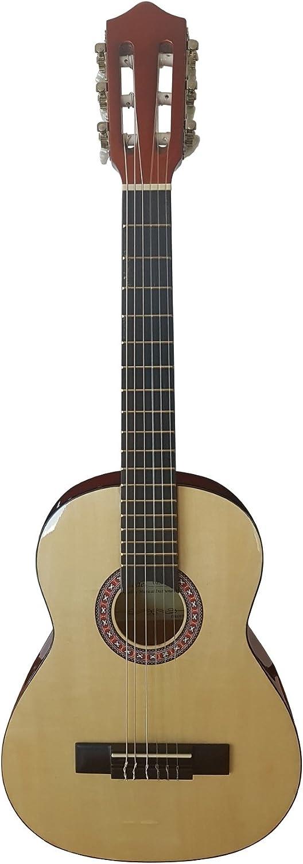 Olveira cg30014 N Guitarra Classic Reducción 1/4 Top Fondo y ...