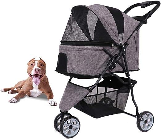 HD2DOG Cochecito De Viaje para Mascotas para Perros Pequeños