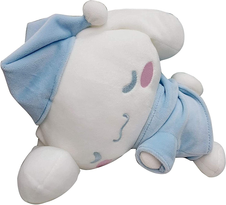 Balamii Cinnamoroll Plush Doll Cartoon Series Plush Toy Sleeping Prone Position Anime Figure,Soft Anime Plush Pillow for Kids, Soft Stuffed Figure Toy Gift for Children