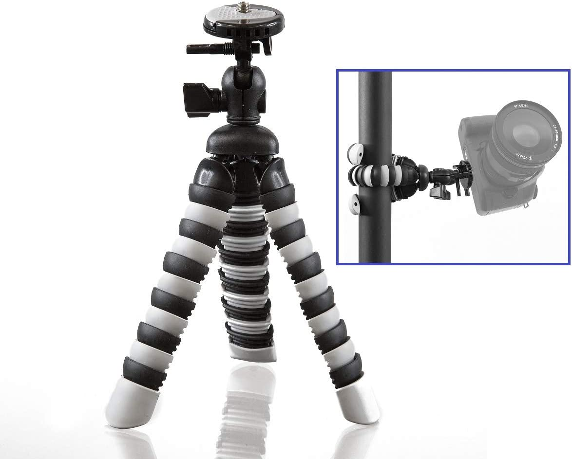 8 Flexible Gripster Tripod for Canon Powershot SX740 SX70 HS