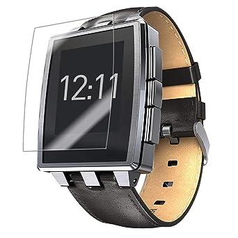 Amazon.com: Pebble Acero Reloj Inteligente, protector de ...