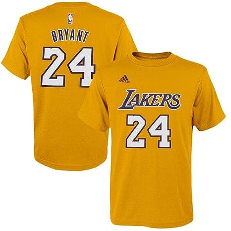 2f63475b7 Kobe Bryant Los Angeles Lakers   24 NBA Gametime reproductor juventud  camiseta oro