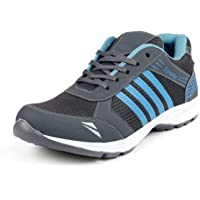 Deals4you Premium Quality Black/Blue Sports Running Shoes Mens Boys