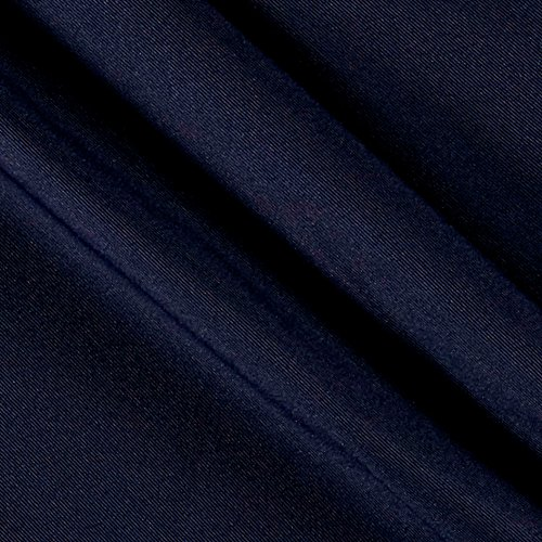Gabardine Solid - Ben Textiles Gabardine Suiting Solid Blue Fabric by The Yard