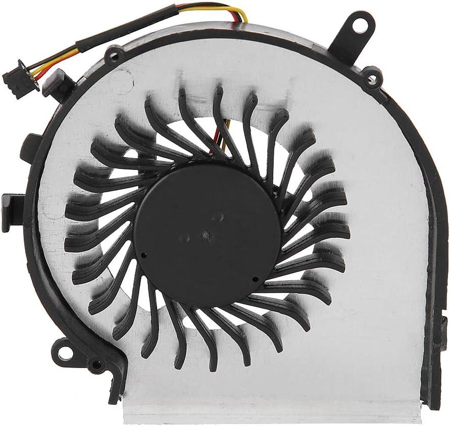 sjlerst Ventilador de Refrigeración de CPU para MSI, Nuevo Ventilador de Refrigeración de CPU para MSI GE62 GL62 GE72 GL72 GP62 GP72 PE60 PE70 Series