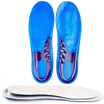 top best Speedfeet Sport Insole Gel Massaging Insole for Low Arches Orthopedic and Plantar Fasciitis Running