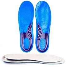 Speedfeet Sport Insole Gel Massaging Insole for Low Arches Orthopedic and Plantar Fasciitis Running