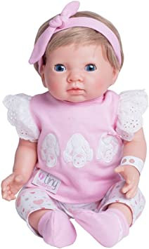 Chad Valley Tiny Treasures Newborn Doll with Pink Outfit