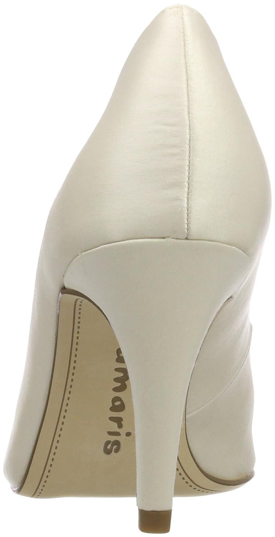 Tamaris 22500, Scarpe  con Tacco Donna  Scarpe Bianco (Champagne 179) 479d48