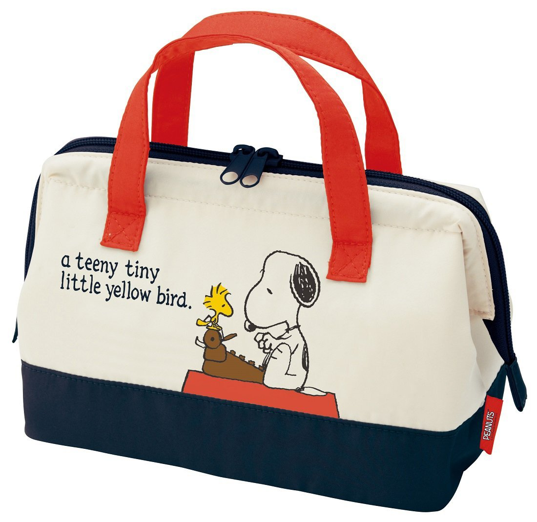 Skater Cooler Lunch Bag M Snoopy Peanuts 15 KGA1