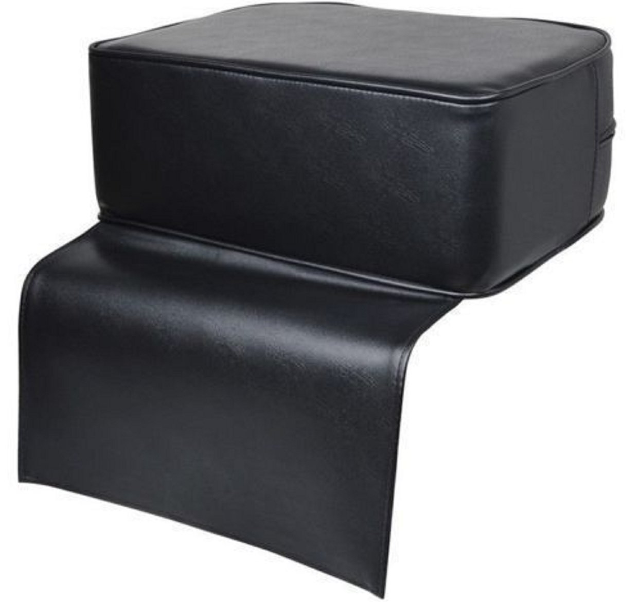 Black Cushion Seat Chair Child Booster Seat Toddler Salon Spa Equipment Barber