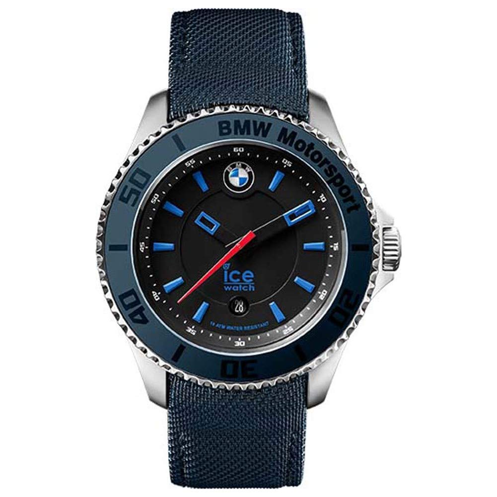 Ice-Watch braceletuhr BMW Motorsport Unisex azul cuero: Amazon.es: Relojes
