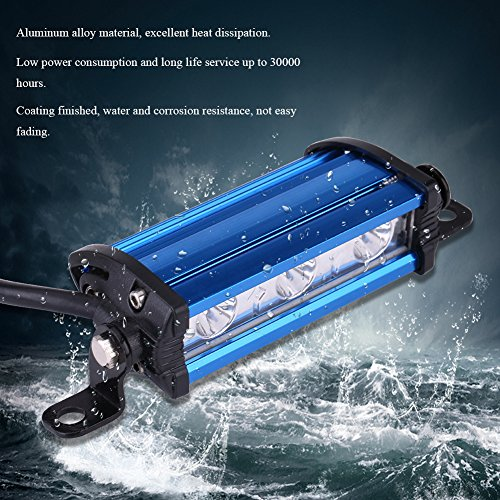 Anauto-9W-4-Inch-3-LED-Spot-Beam-Work-DRL-Light-Bar-Lamp-Kit-for-Car-Truck-Off-Road-ATV-Motorcycle