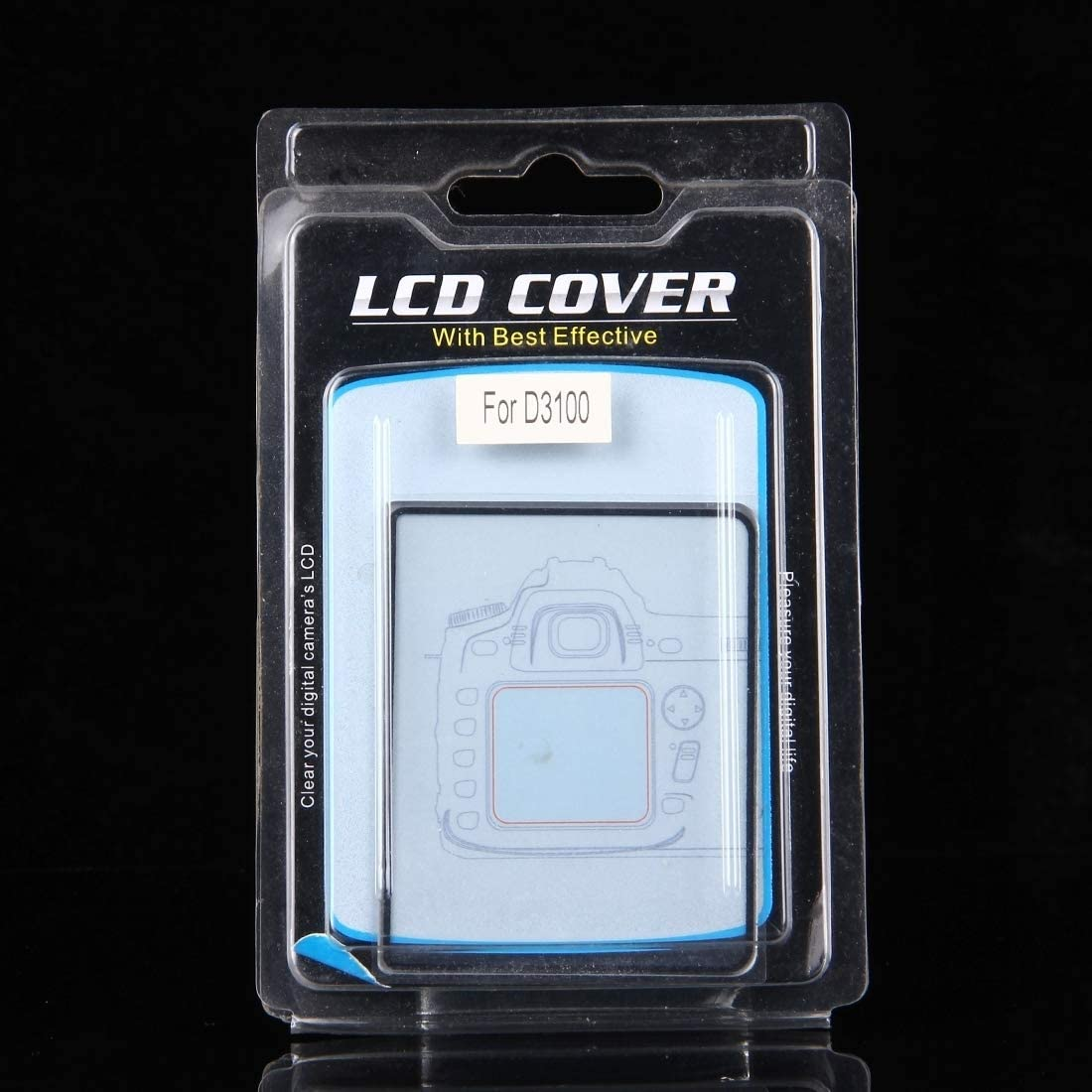 Perfect Home Convenience Durable Camera 9H Surface Hardness Tempered Glass Screen Protector for Nikon D3100 Durable