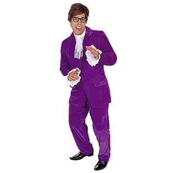 Fun Shack Púrpura Gigoló de Los 60 Disfraz para Hombres - L ...