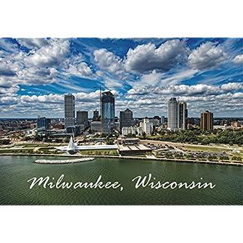 "MILWAUKEE WISCONSIN 2/""x 3/"" Photo Fridge Magnet"