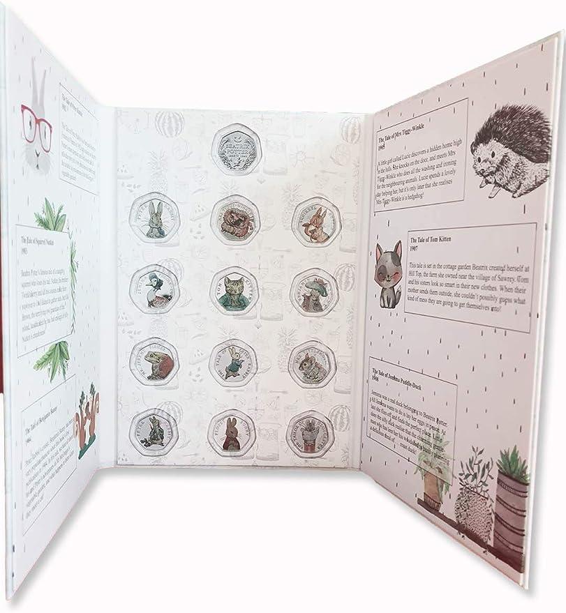 NEW  2016 Beatrix Potter 50p Coin Collector Album OFFICIAL Royal Mint Album 2016