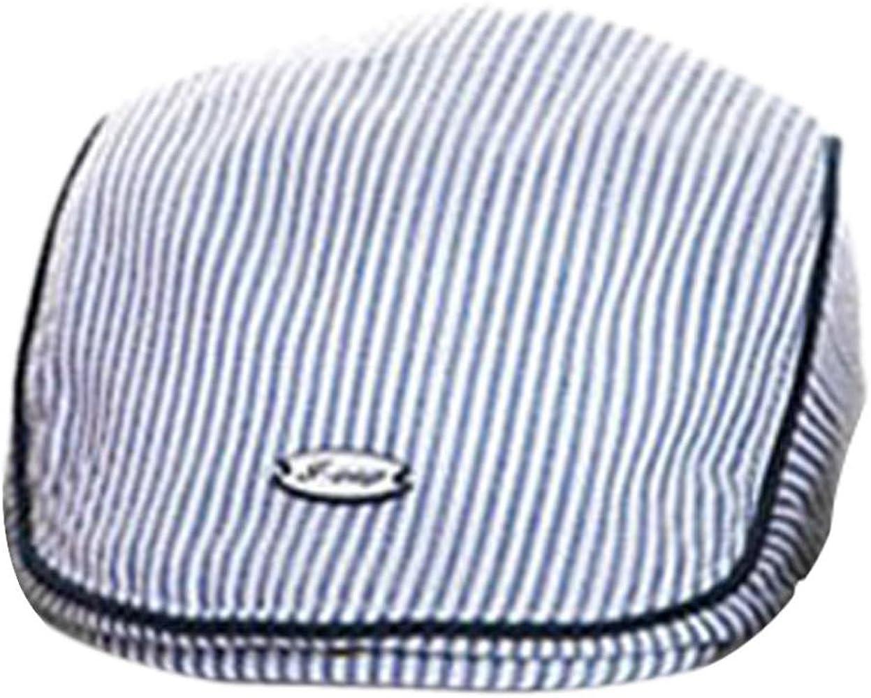 Summer Baby Boy Kids Girl Hats Children Baseball Peaked Beret Hat Stripe Cap OBQ