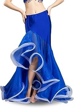 ROYAL SMEELA Falda de Danza del Vientre para Las Mujeres Traje de ...