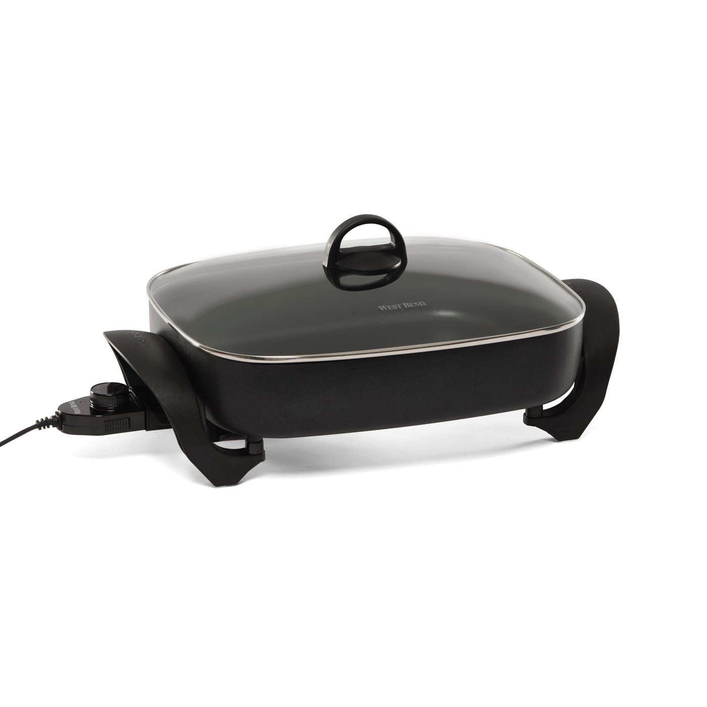 West Bend 72215 Electric Extra-Deep Oblong 12-by-14.5-Inch Nonstick Skillet (Discontinued by Manufacturer)