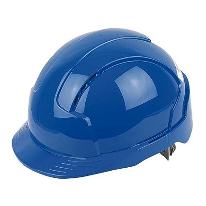 JSP EVOLite – Casco de seguridad con ranuras de ventilación, color azul