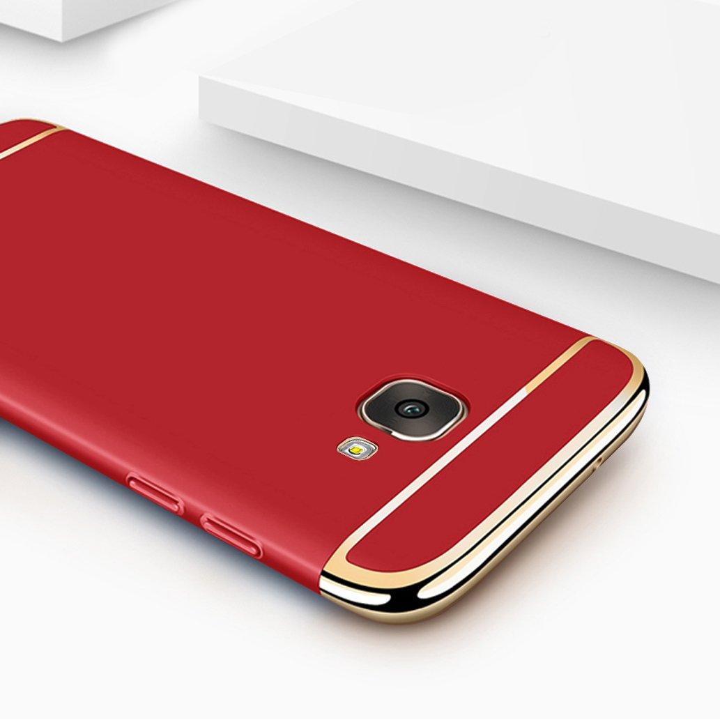 yoowei/® Coque Galaxy A5/2017/3/en 1/Haute Qualit/é Ultra Fine Pleine Protection PC Shell dur dos /Étui pour Samsung Galaxy A5/2017/Smartphone /Étui Samsung Galaxy A5/2017