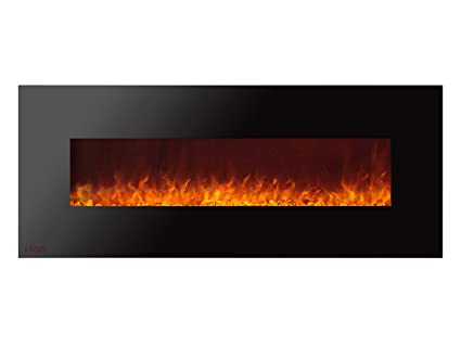 Amazon Com Ignis Royal 60 Inch Wall Mount Electric Fireplace With