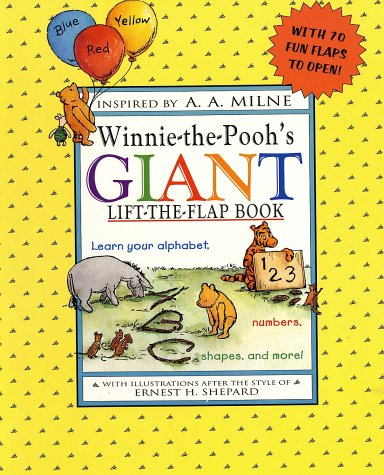 Winnie-the-Pooh's Giant Lift-the-Flap - Mail Five Dollar