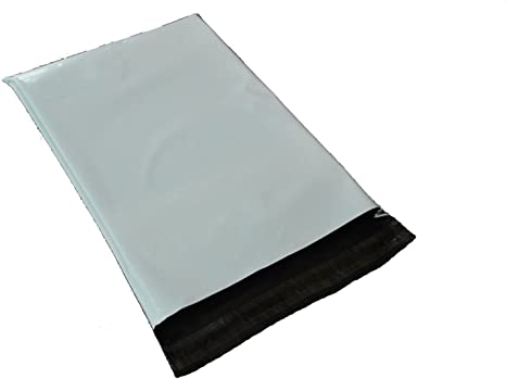 50 19x24 Poly Mailers Self Sealing Shipping Envelopes Plastic Bags 2.5 Mil