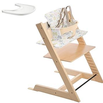 Amazon.com: Stokke Tripp Trapp Bundle Set (Natural): Baby
