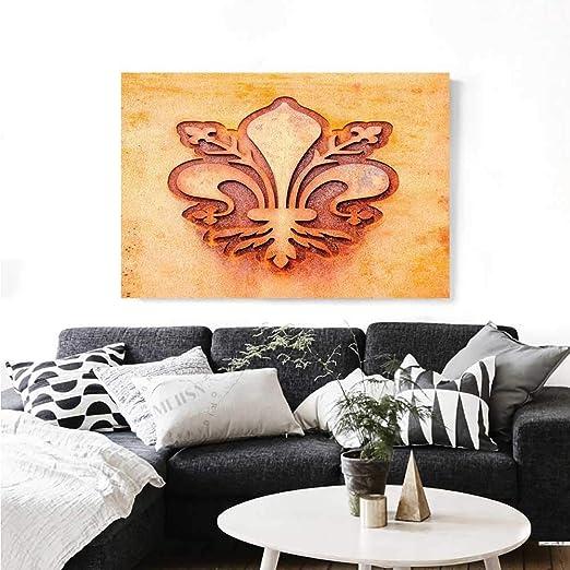 chaud Famille Fleur de Lis Art-canvas IMPRIME classique ...