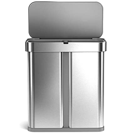 Amazon.com: Double Garbage Can With Recycle Kitchen ...