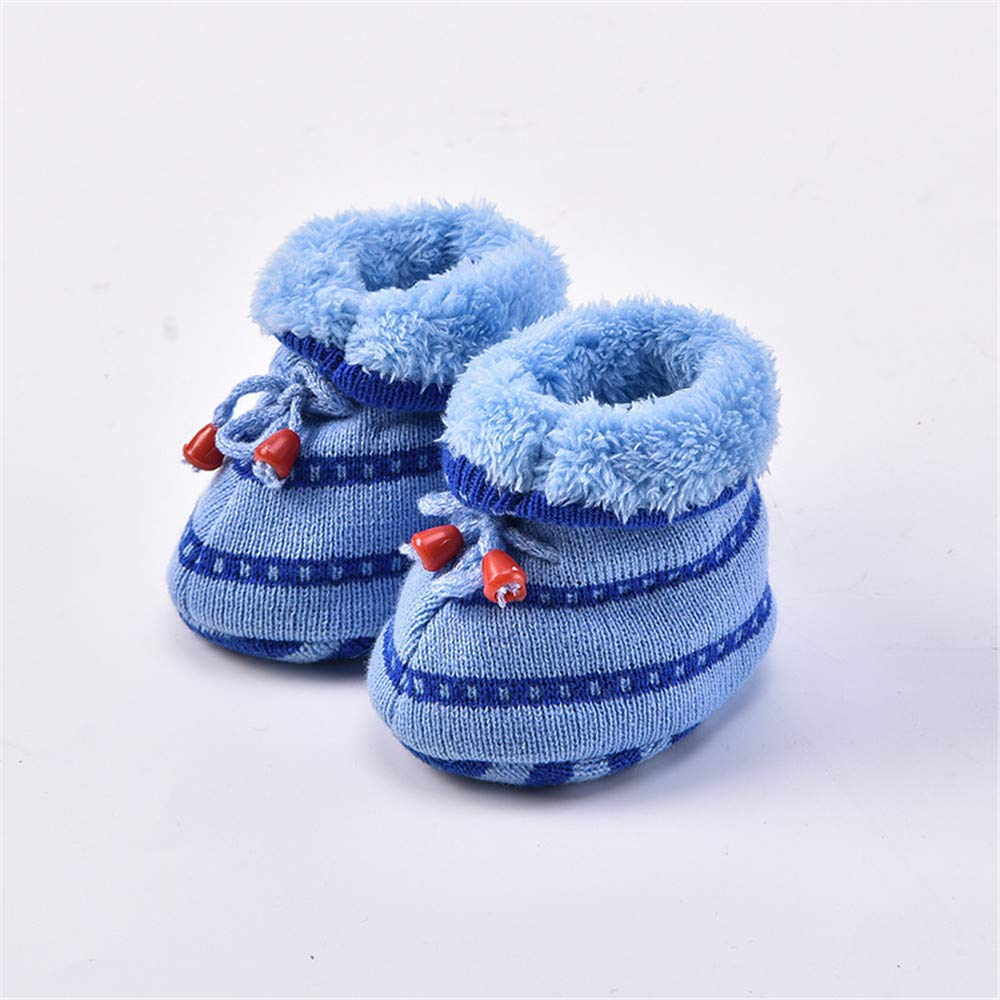 Baulody Baby Boy Girls Soft Sole Warm Winter Infant Prewalker Toddler Snow Boots