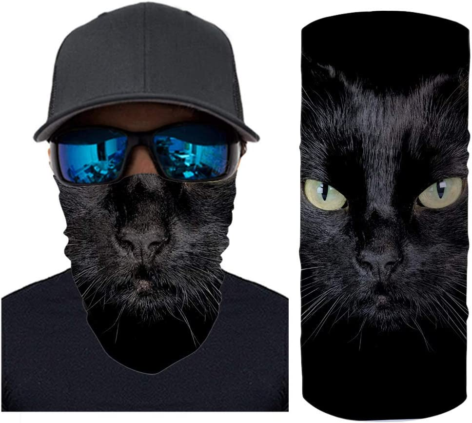 Cckuu New Face Mask UV Residence Magic Headband Bandana for Outdoor Running Hiking Cycling 1#