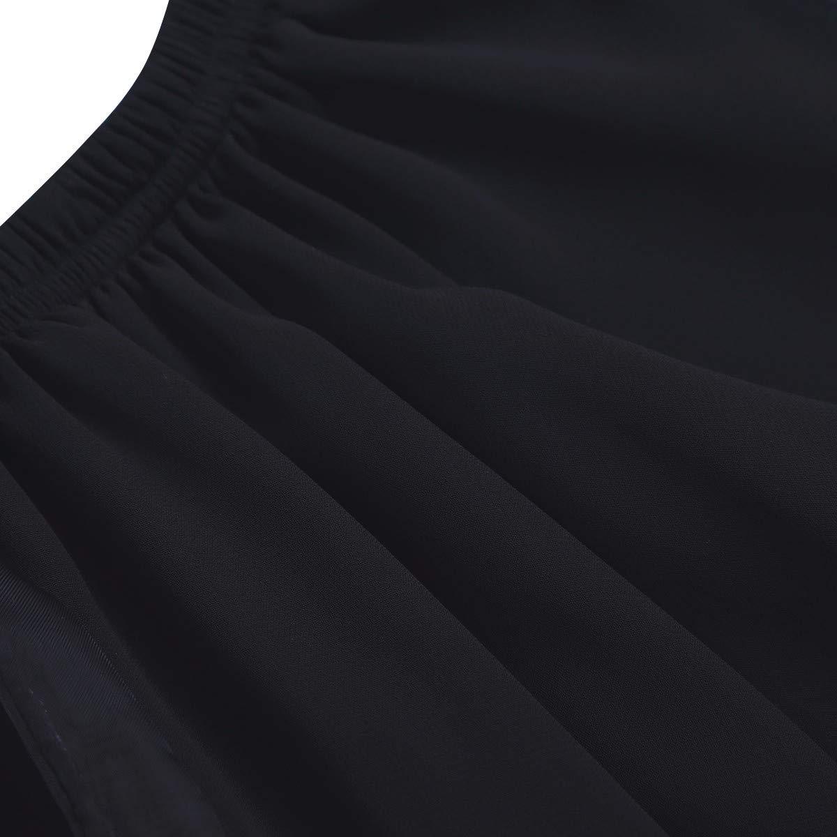 744e6bdd1ad75 TiaoBug Fille Mini Jupe en Mousseline de Soie Jupe de Danse Jupe de Ballet  Classique Tutu ...