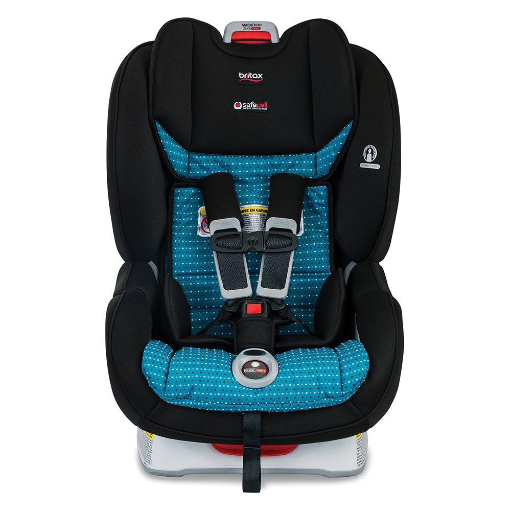 Amazon Com Britax Marathon Clicktight Convertible Car Seat 1 Layer Impact Protection Rear Forward Facing 5 To 65 Pounds Oasis Baby
