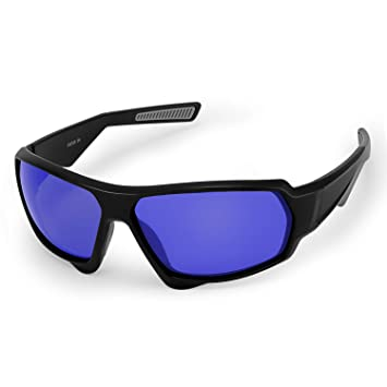 CHEREEKI Gafas de Sol Deportivas Polarizadas, Ultralight Conducción de Gafas de Sol con UV400 Anti