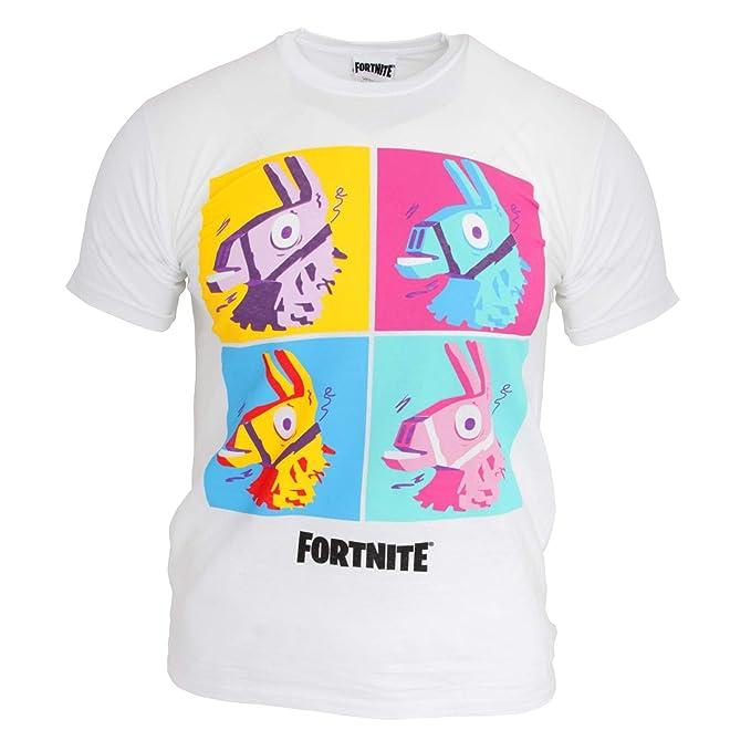 nuevo baratas gran variedad de estilos comprar Fortnite - Camiseta Infantil Modelo Llama