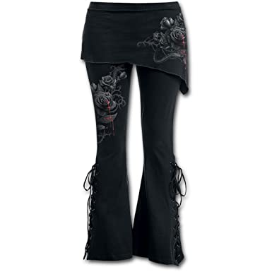 ec4365d888a91 Spiral - Womens - Fatal Attraction - 2in1 Boot-Cut Leggings with Micro  Slant Skirt