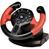 USB Wired Steering Wheel & Pedals with Vibration / Racing Wheel with Pedals Controller / For PC DVD, PS3, Gaming / iCHOOSE