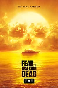 Trends International Fear the Walking Dead Skull TV Show Poster 22x34 inch