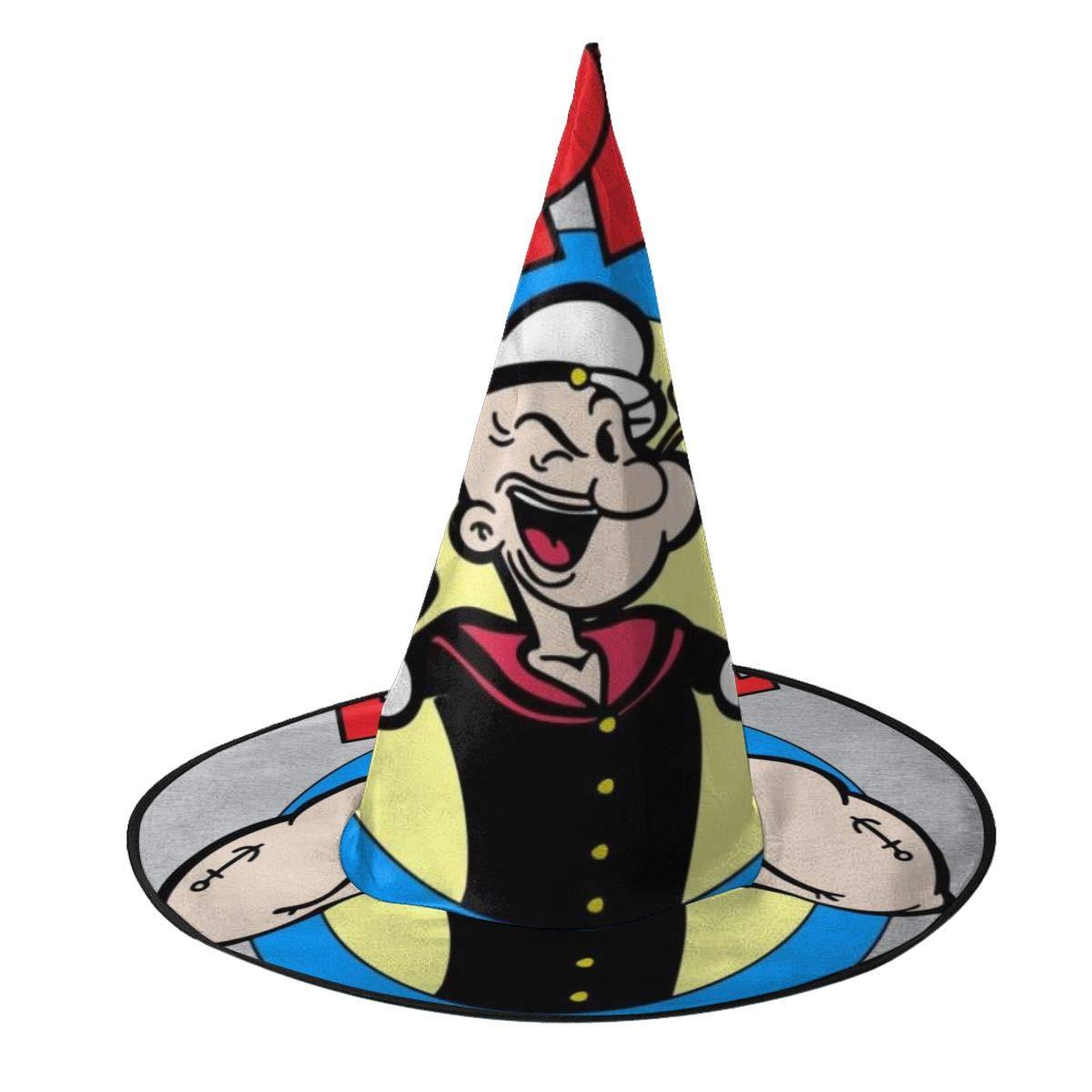 NUJSHF Popeye - Sombrero de Bruja Unisex para Fiestas de Halloween ...