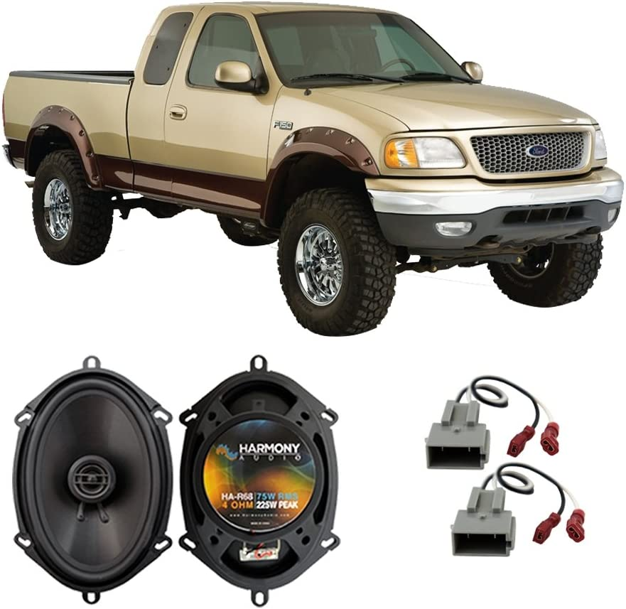 Fits Ford Mustang 1999-2004 Front Door Replacement Harmony HA-R68 Speakers New