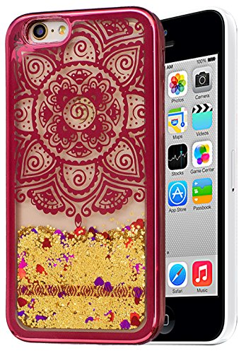 Colorful Coque Couleur 5S 5 Nnopbeclik® Briller 0 Soft Coque Iphone Coque 5S Doux 5 Style Apple Iphone de Backcover Housse pour SE Pouce Paillettes 4 Dégradé Iphone Iphone silicone fleur2 5 Silicone 5ZxPw
