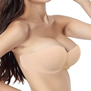 04d4daca72 Strapless Backless Sticky Bra for Women Push up Self-Adhesive Bras New 2019  Version