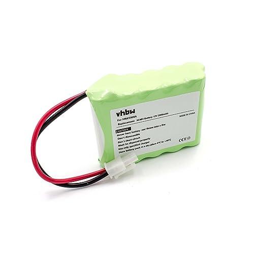 vhbw NiMH Batterie 2000mAh (12V) pour Tondeuse à Gazon Robomow RS630, RS635,RS612, RS625 comme MRK5006A.
