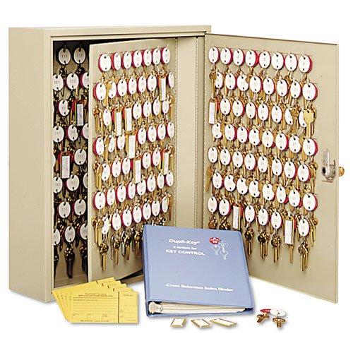 STEELMASTER Dupli-Key Two-Tag Cabinet for 60 Keys, 14 x 17.5 x 3.13 Inches, Sand (201806003)