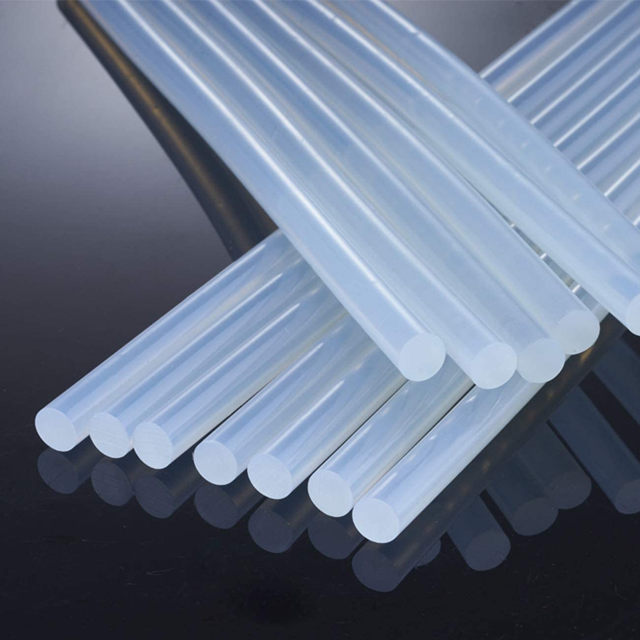 Hot Glue Sticks for Glue Gun,160pcs,0.28'' x 3.94'', Clear Mini Hot Glue Stick,Compatible with Full Size Industrial Glue Guns Adhesive Work for Craftsman DIY Arts and Crafts Home Office Repairing