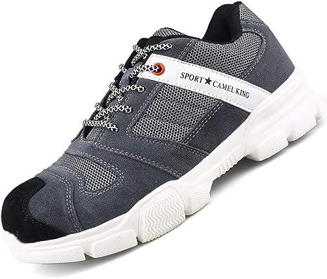 SFOXL Zapatos de Seguridad Mujer, con Punta de Acero ...